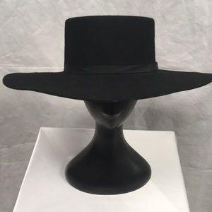 Braxton Supply Company Black Hat 7 1/4 100% Wool